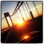 Verrazano Bridge sunrise
