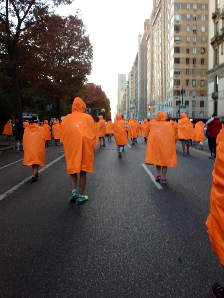 zombie poncho walk