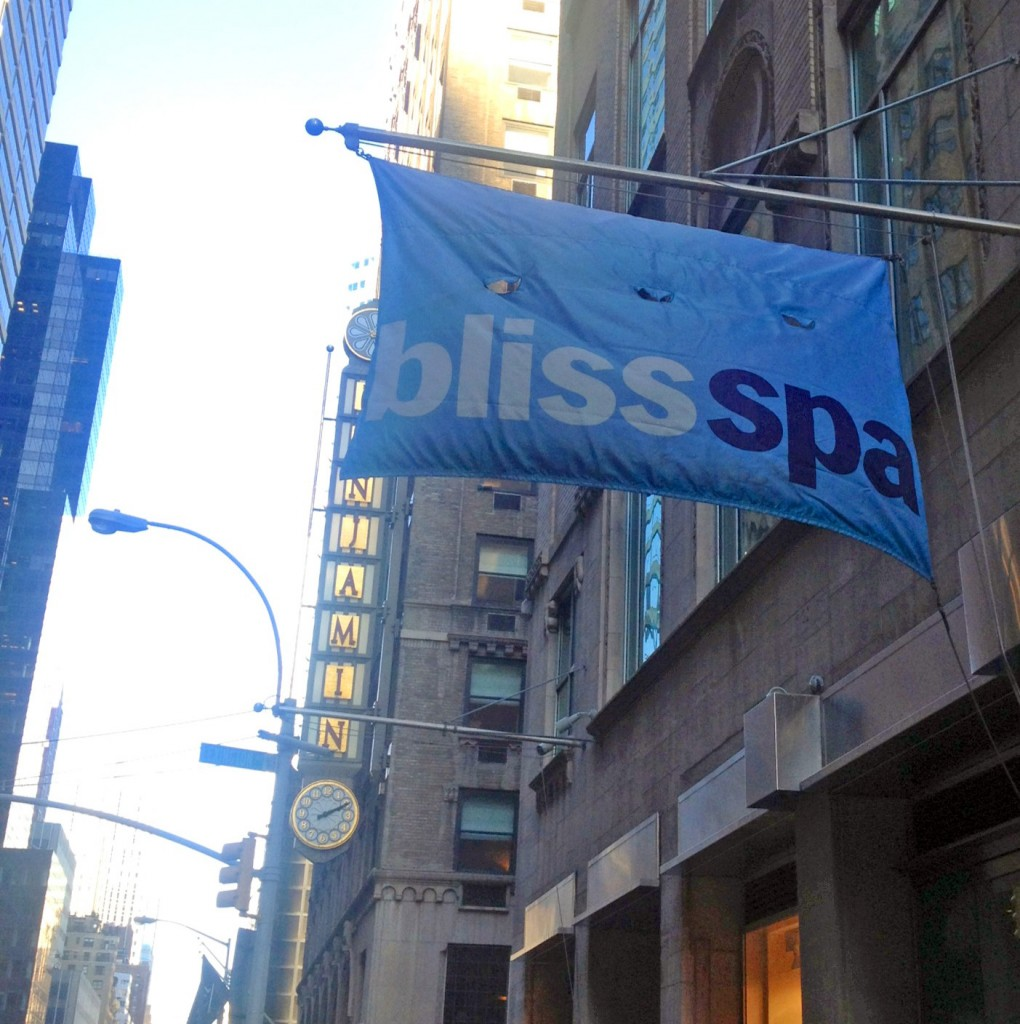 "Passed Bliss Spa on my way. Thought about asking if they took ""walk-ins"". But then I remembered I don't ""pamper out the small stuff""....I sweat out the small stuff =)"