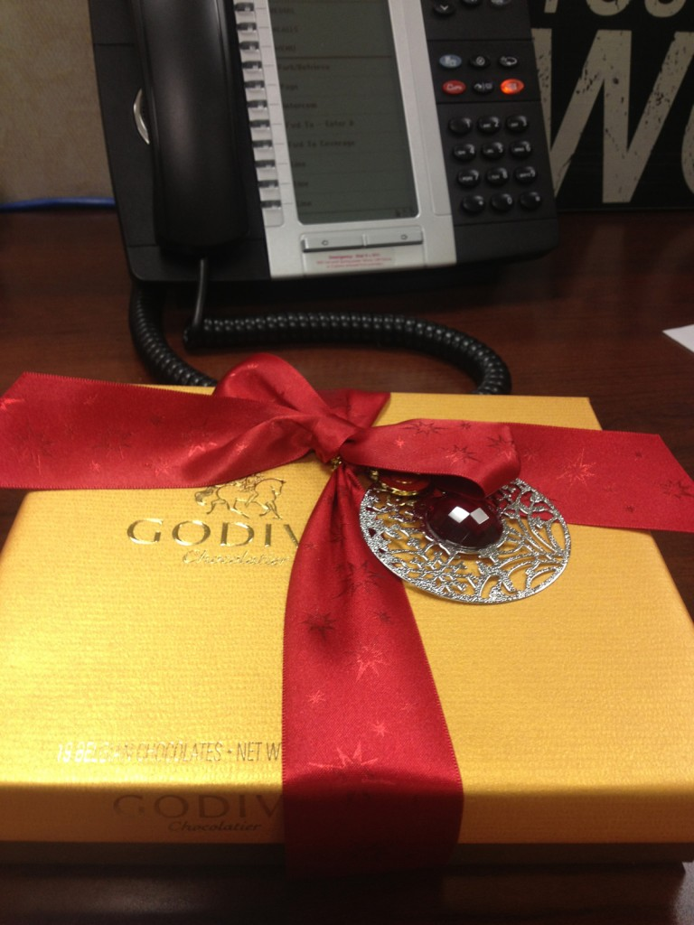 Godiva chocolate...the perfect gift!
