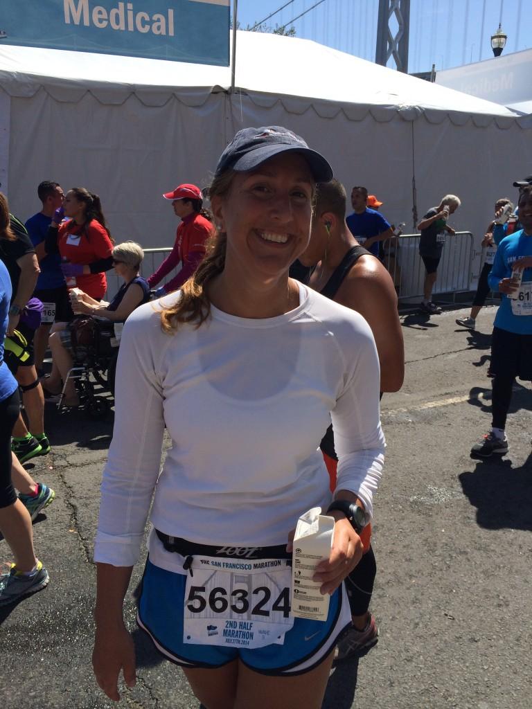 cameo at SF Marathon