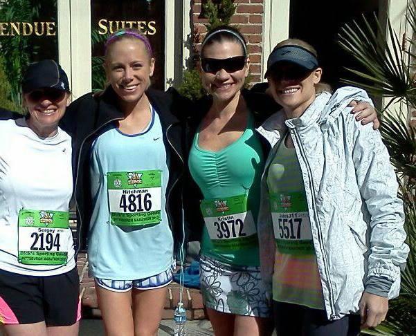 Every Runner Has a Reason photo shoot (a faux marathon)