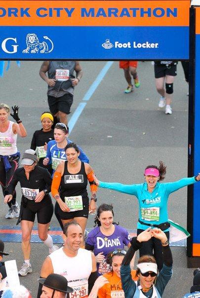 officially a marathoner