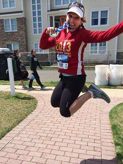 NJ Marathon finisher