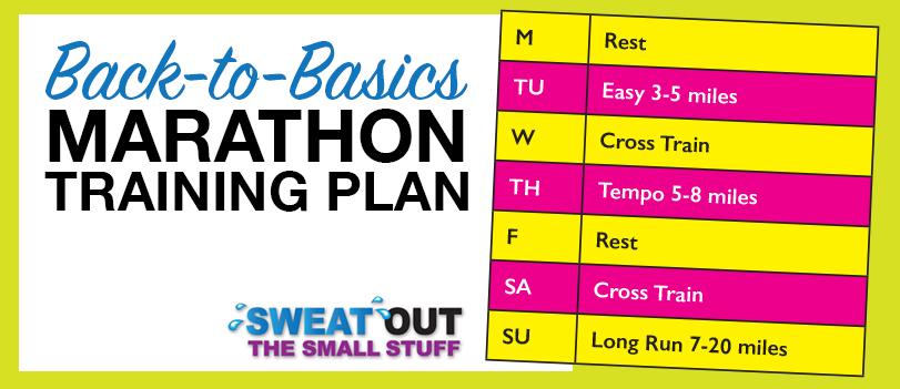 Back to Basics Marathon Training Plan