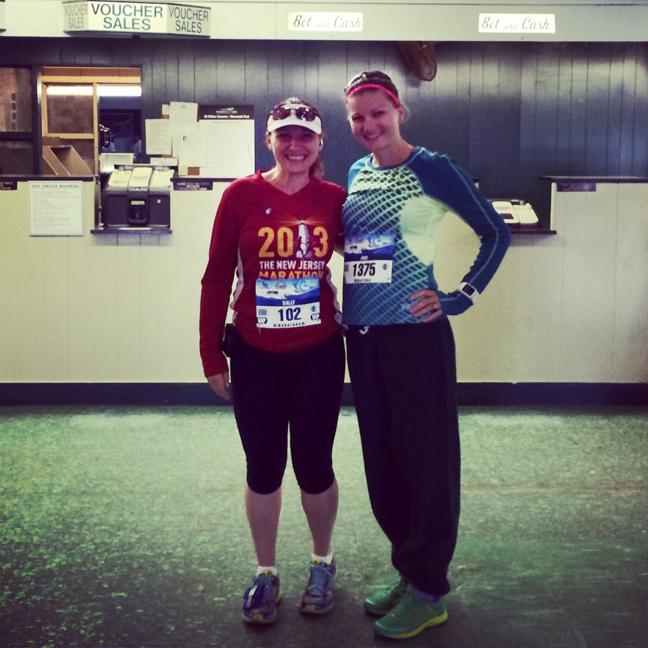 2014 NJ Marathon pre race