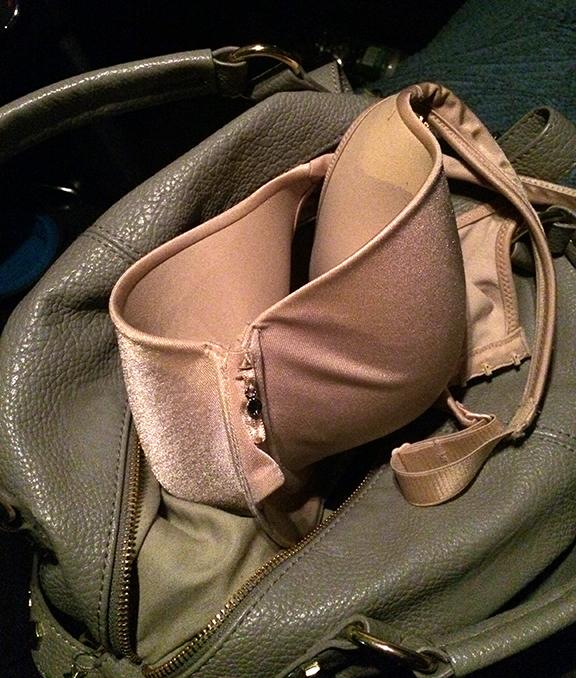 have bra will travel