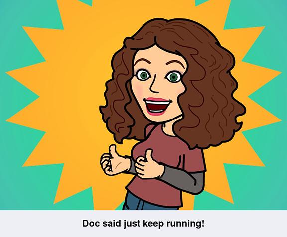 happy to run