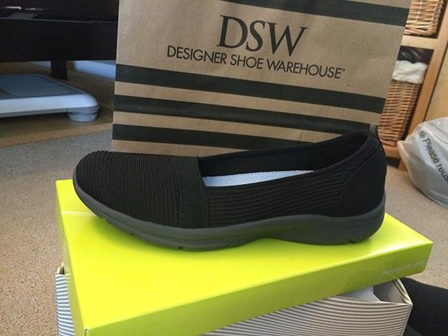 """My """"dressy"""" sneakers."""