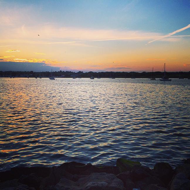 Summer's first sunset