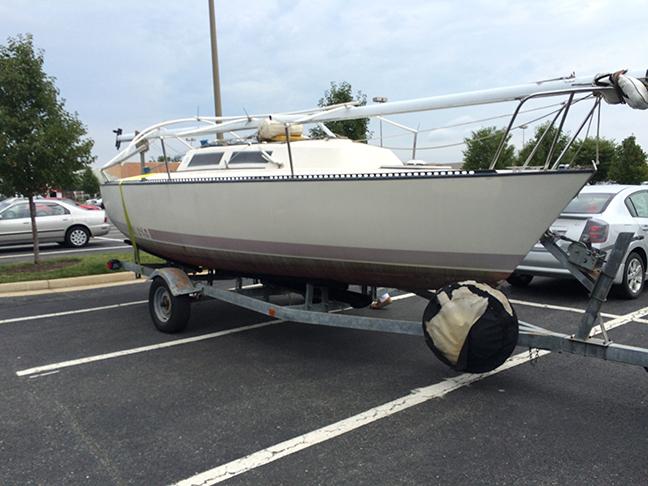 Bye bye boat