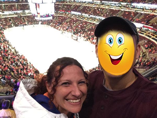 Blackhawks selfie