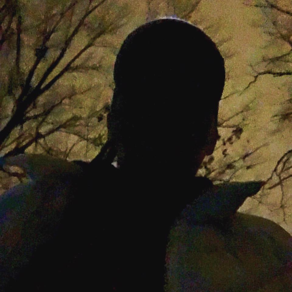 a silhouette Sally selfie