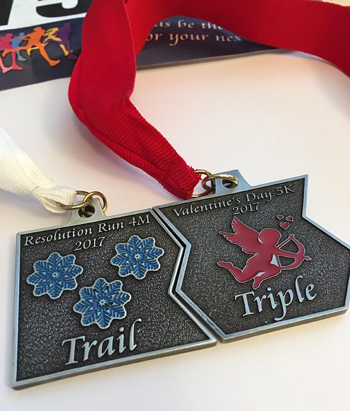 How sad....2/3 of an interlocking medal