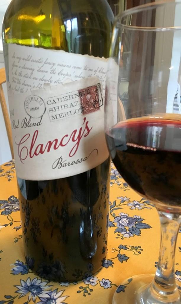 Latest wine discovery. I nice blend from Australia...Cab, Shiraz and Merlot.