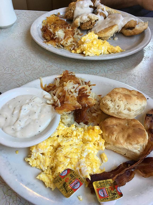 big southern breakfast...